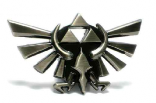 Zelda 'Tri-Force' Belt Buckle